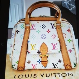 Authentic Louis Vuitton Priscilla hand bag M40096